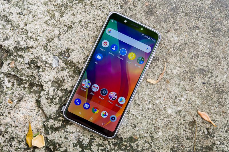 Giao diện Android 8.1 trên điện thoại Vsmart Joy 1 chính hãng