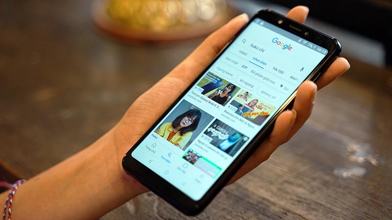 Khả năng hiển thị trên điện thoại Vsmart Joy 1 chính hãng