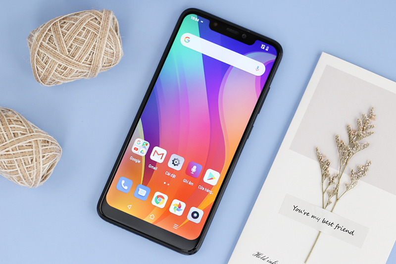 Giao diện Android điện thoại Vsmart Joy 1+