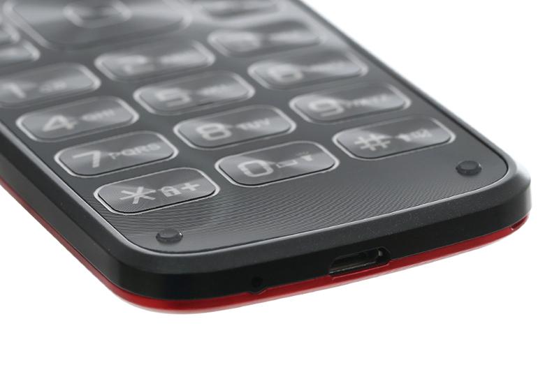 Jack 3.5mm trên điện thoại Mobell M729 chính hãng