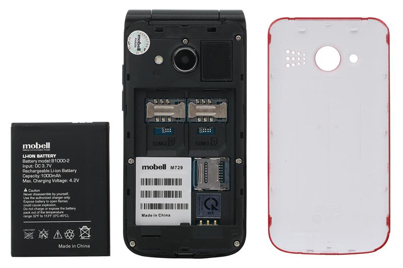 Viên pin trên điện thoại Mobell M729 chính hãng