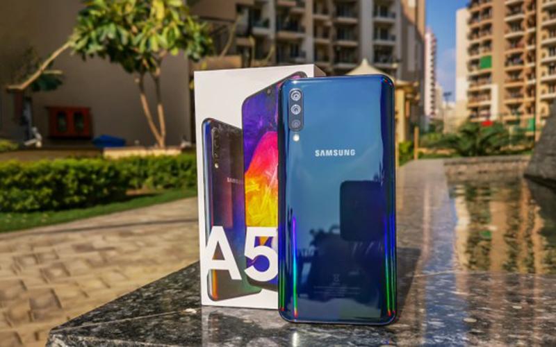 Phone - ទូរស័ព្ទ Samsung Galaxy A50 - កម្លាំងម៉ាសុីន