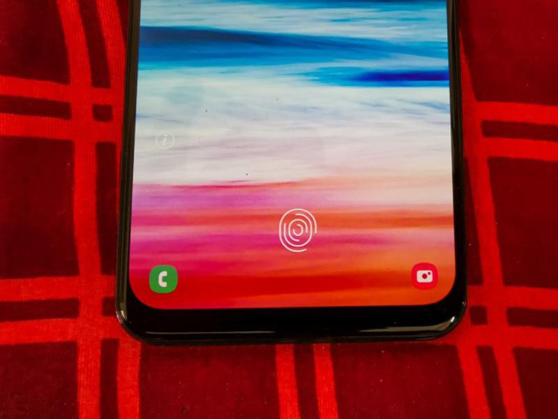 Phone - ទូរស័ព្ទ Samsung Galaxy A50 - សែនស័រស្នាមម្រាមដៃ