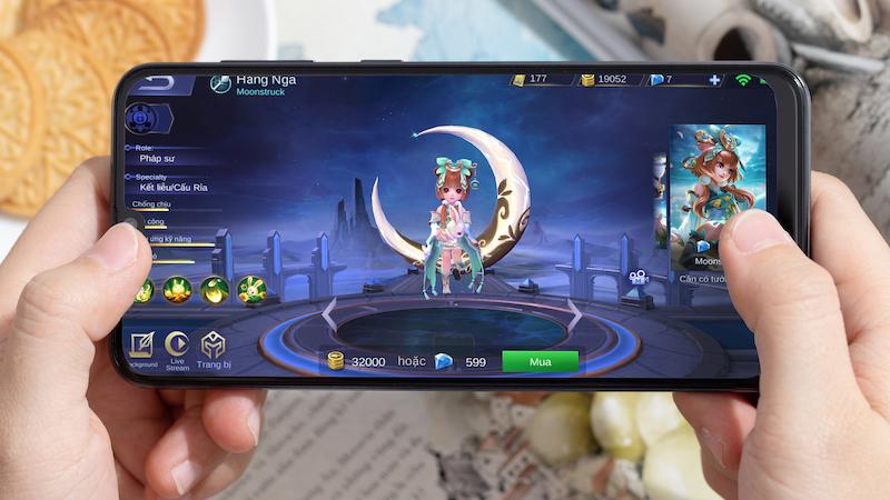 Điện thoại Samsung Galaxy A50 chính hãng | Giao diện khi chơi game