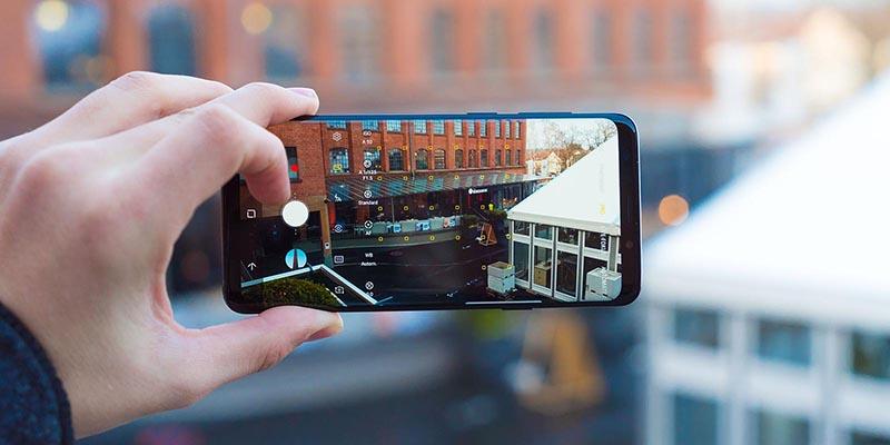 Camera điện thoại Galaxy S9+ Vang Đỏ