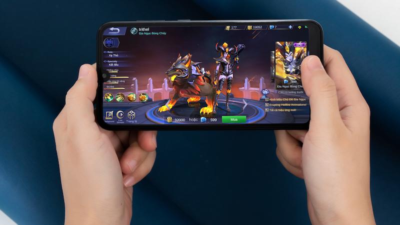 Chơi game trên Huawei Y7 Pro 2019 chính hãng