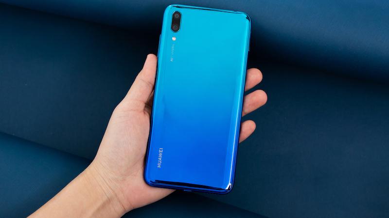 Phone - ទូរស័ព្ទ Huawei A7 (Y7 Pro 2019) - កម្លាំងម៉ាសុីន