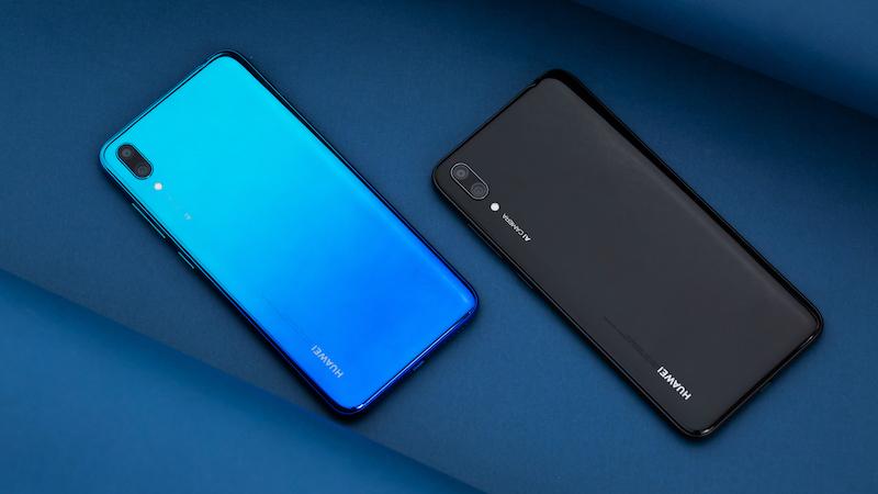 Thiết kế Huawei Y7 Pro 2019 chính hãng
