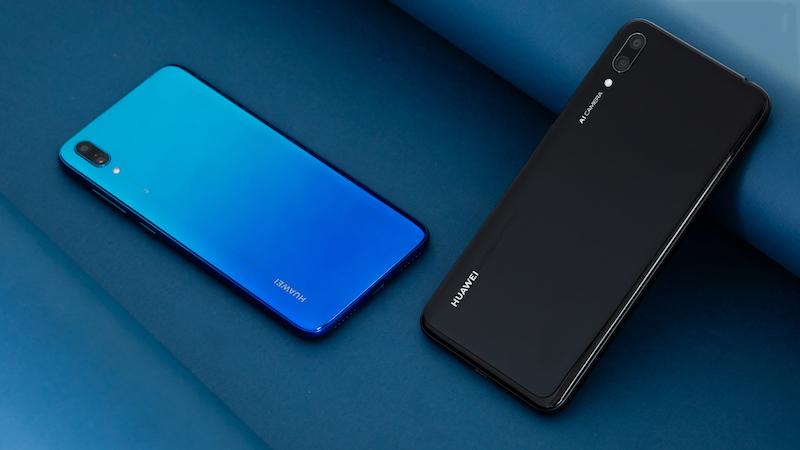 Phone - ទូរស័ព្ទ Huawei A7 (Y7 Pro 2019) - កាមេរ៉ា