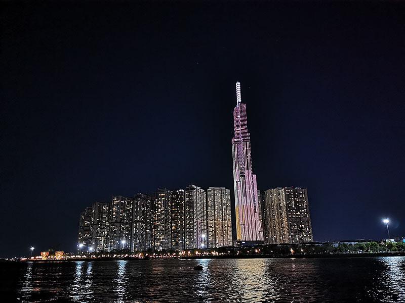 Ảnh chụp ban đêm của điện thoại Huawei P30 Pro chính hãng