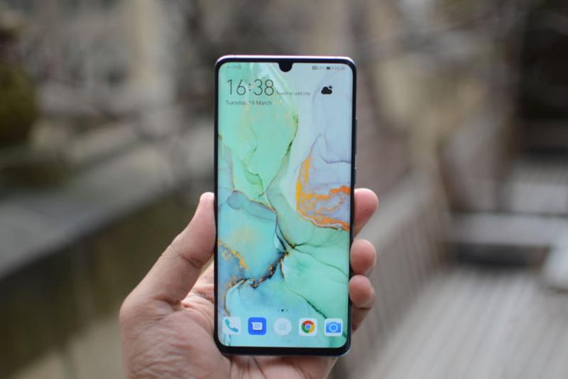 Phone - ទូរស័ព្ទ Huawei P30 Pro - រចនាអេក្រង់