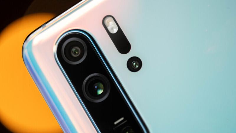 Camera sau của điện thoại Huawei P30 Pro chính hãng