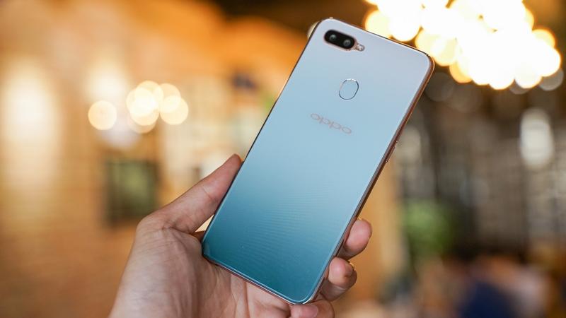 Phone - ទូរស័ព្ទ OPPO F9 Jade Green - មុខងារ