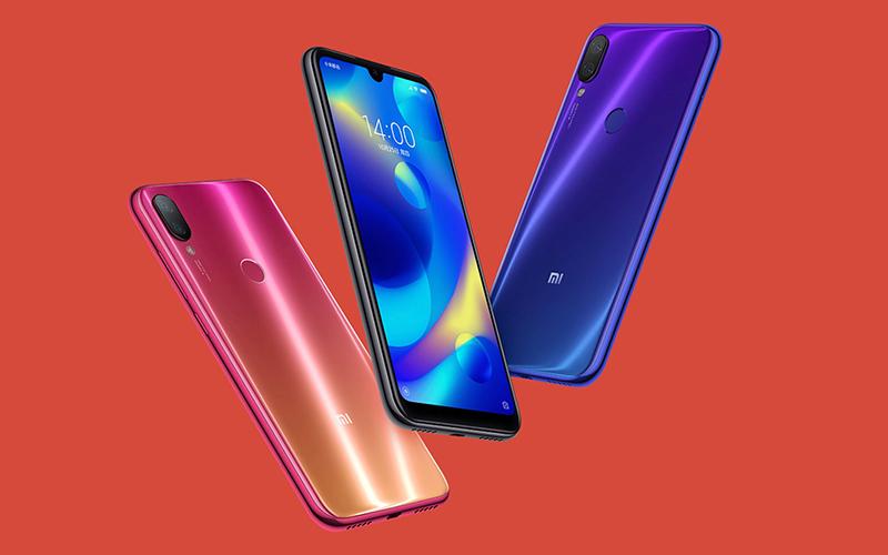 Mặt lưng smartphone Xiaomi Mi Play