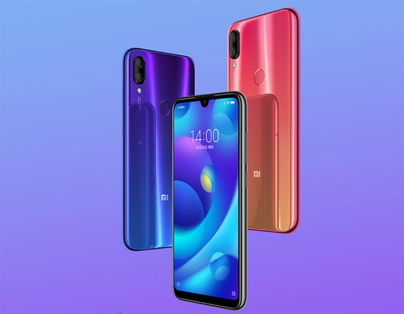 Thiết kế smartphone Xiaomi Mi Play