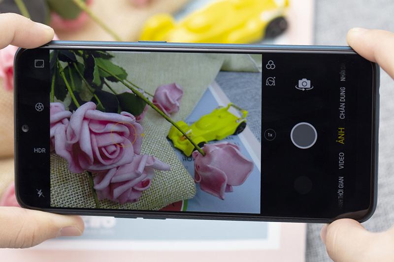 Giao diện camera OPPO A7 32GB chính hãng