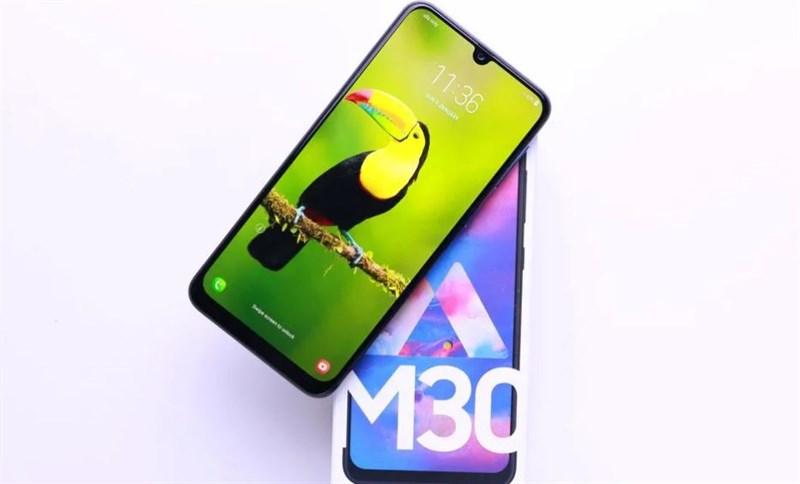 Màn hình của điện thoại Samsung Galaxy M30 chính hãng
