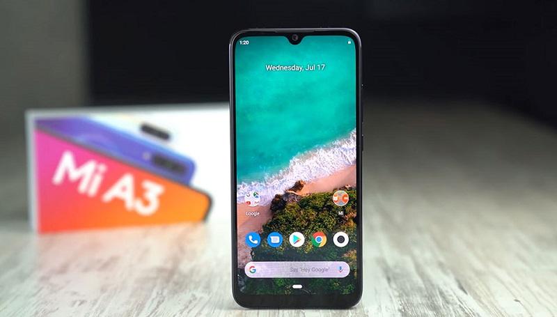 Điện thoại Xiaomi Mi A3 | Camera trước
