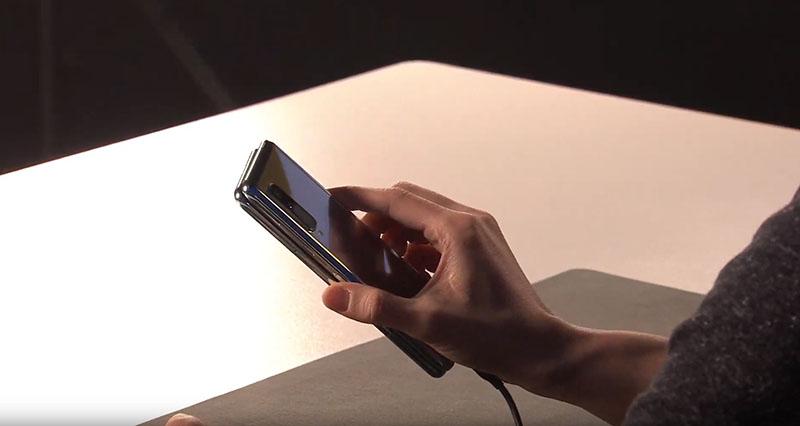 Camera sau của điện thoại Samsung Galaxy Fold chính hãng