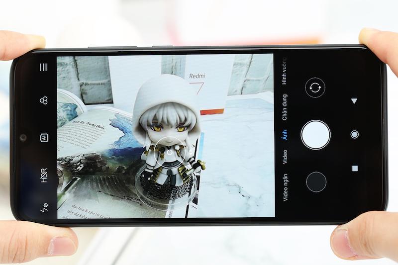Xiaomi Redmi 7 32GB | Giao diện chụp ảnh
