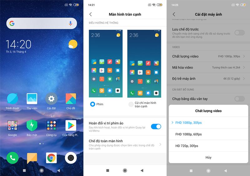 Xiaomi Redmi 7 32GB | Giao diện Android và tính năng