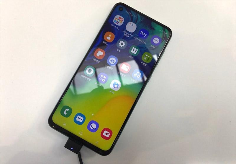 Màn hình của điện thoại Samsung Galaxy A60 chính hãng