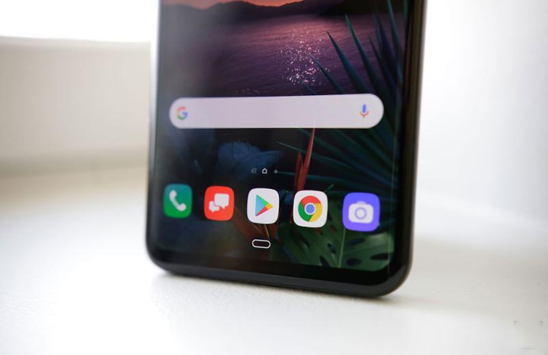 Màn hình của điện thoại LG G8 ThinQ chính hãng