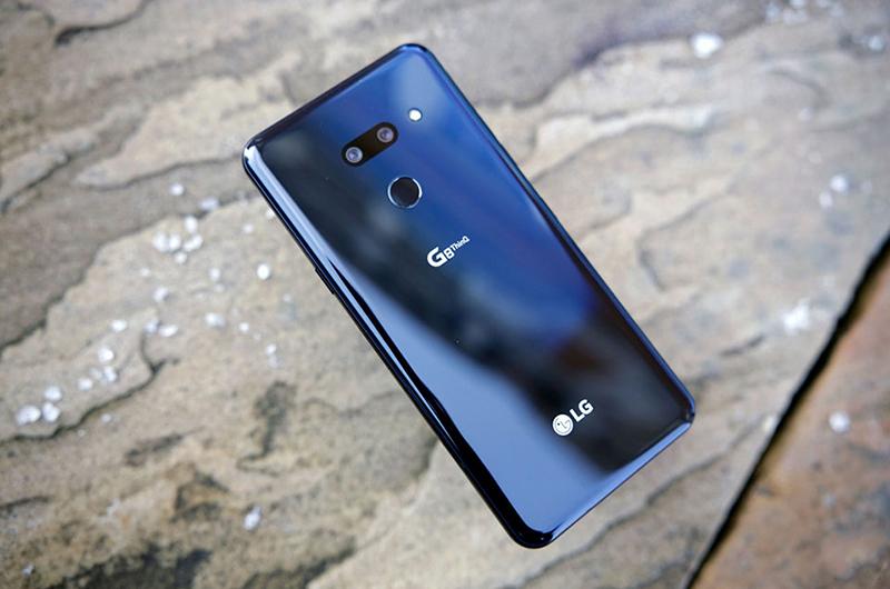 Camera sau của điện thoại LG G8 ThinQ chính hãng