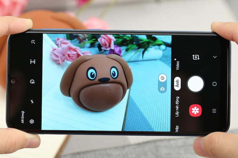 Điện thoại Samsung Galaxy A30 chính hãng | Giao diện chụp ảnh