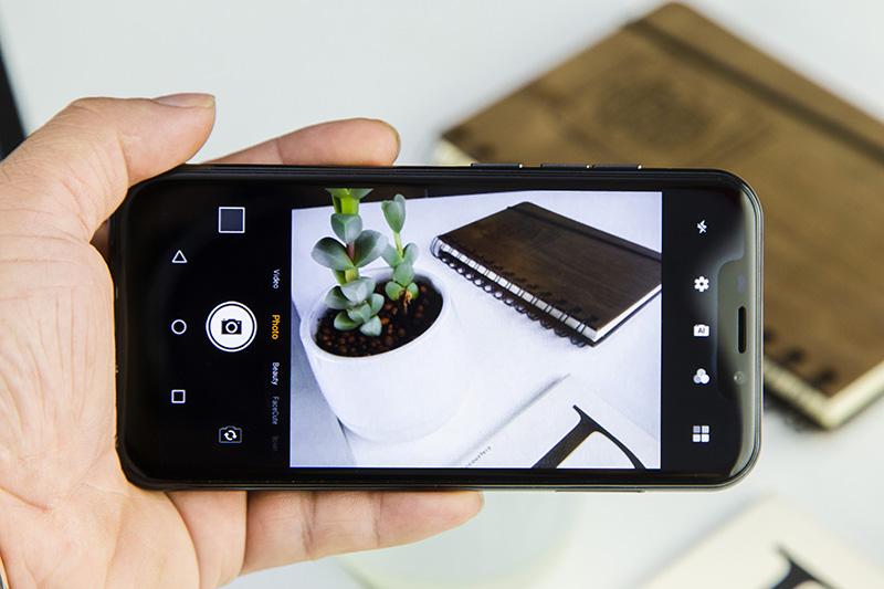 Giao diện camera điện thoại Coolpad N5C