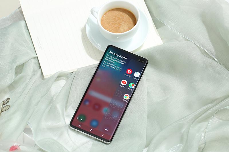 Android trên điện thoại Samsung Galaxy S10+ 512GB chính hãng