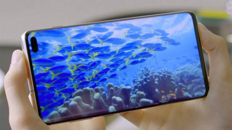 Phone - ទូរស័ព្ទ Samsung Galaxy S10+ - រចនា