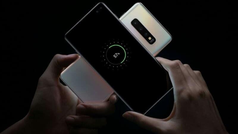 Phone - ទូរស័ព្ទ Samsung Galaxy S10+ - ថាមពលថ្ម