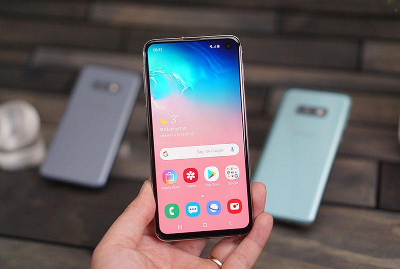 Thời lượng pin của điện thoại Samsung Galaxy S10e chính hãng