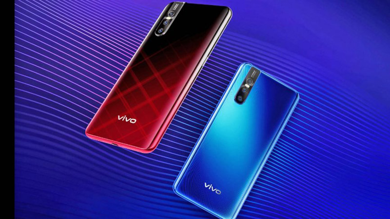 Phone - ទូរស័ព្ទ Vivo V15 Pro - រចនា