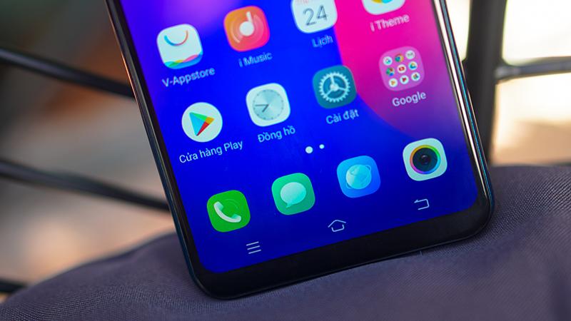 Giao diện Android điện thoại Vivo Y91C chính hãng