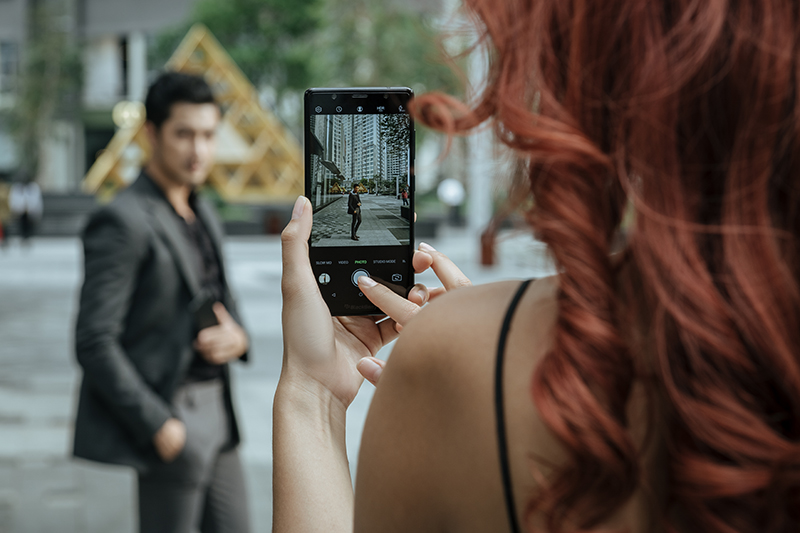 Trải nghiệm chụp ảnh với điện thoại BlackBerry Evolve