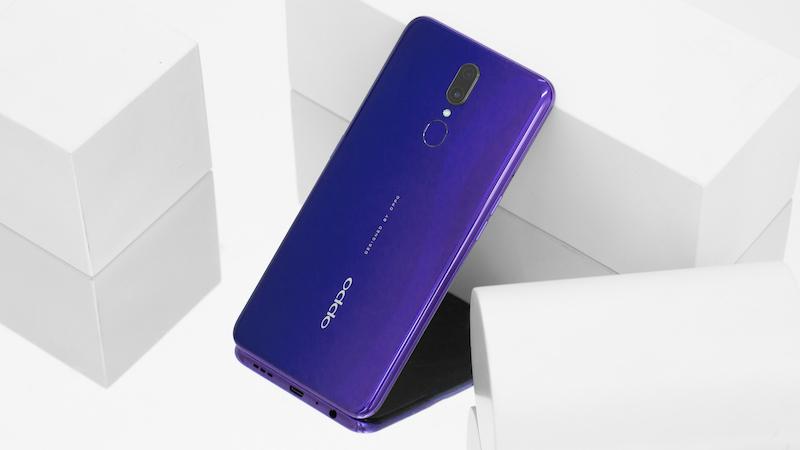 Điện thoại OPPO F11 - Thiết kế mặt lưng