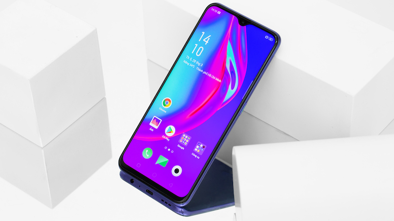 Điện thoại OPPO F11 - Giao diện ColorOS