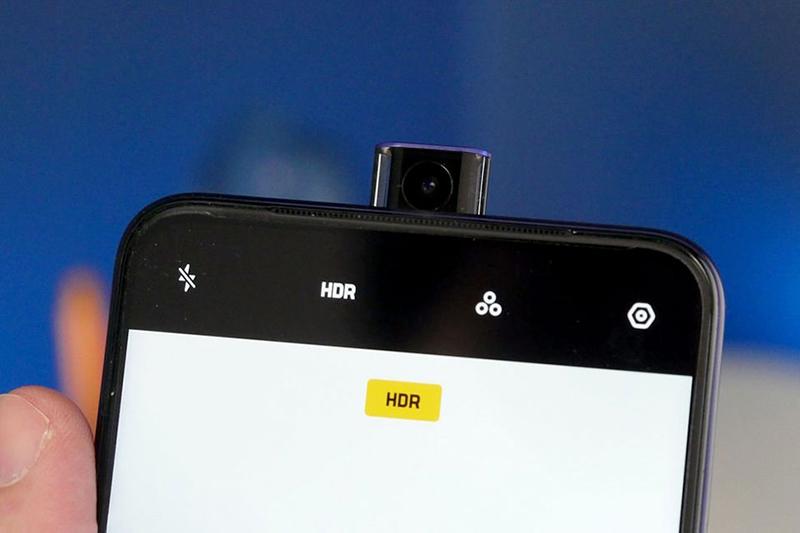 Camera trước selfie của điện thoại OPPO F11 chính hãng