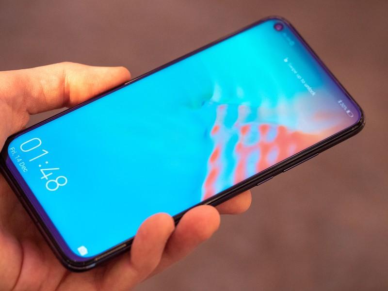 Màn hình của điện thoại Honor 20 chính hãng