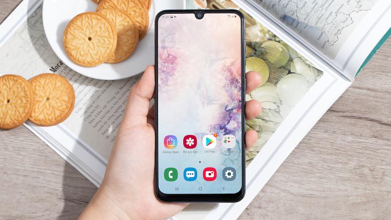Điện thoại Samsung Galaxy A50 128GB | Bảo mật