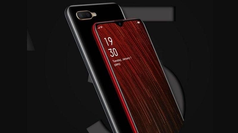 Thiết kế của điện thoại OPPO A5s chính hãng