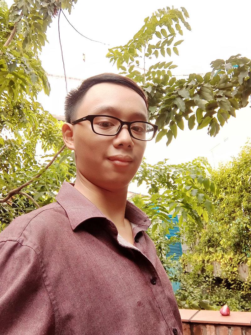 Điện thoại smartphone OPPO A5s | Ảnh selfie bằng camera trước