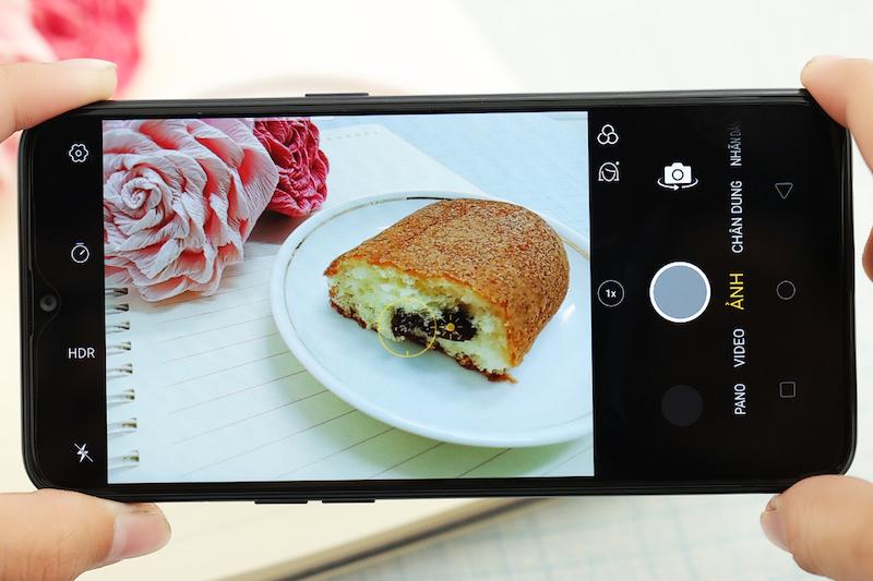 Điện thoại smartphone OPPO A5s | Giao diện chụp ảnh