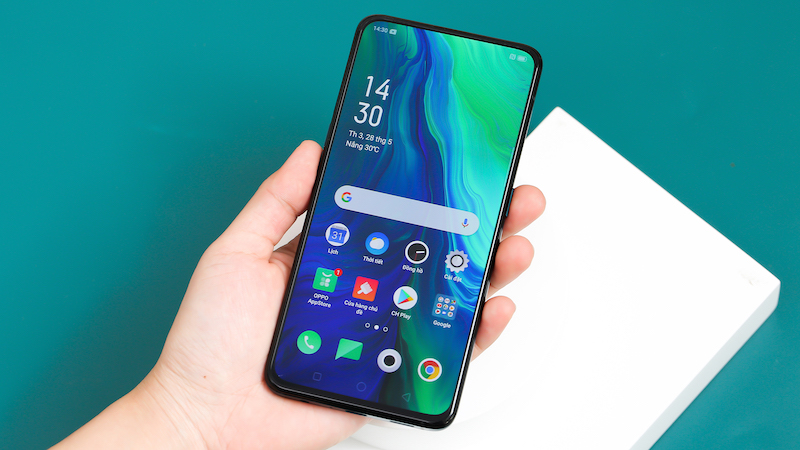 Điện thoại OPPO Reno | Giao diện Android