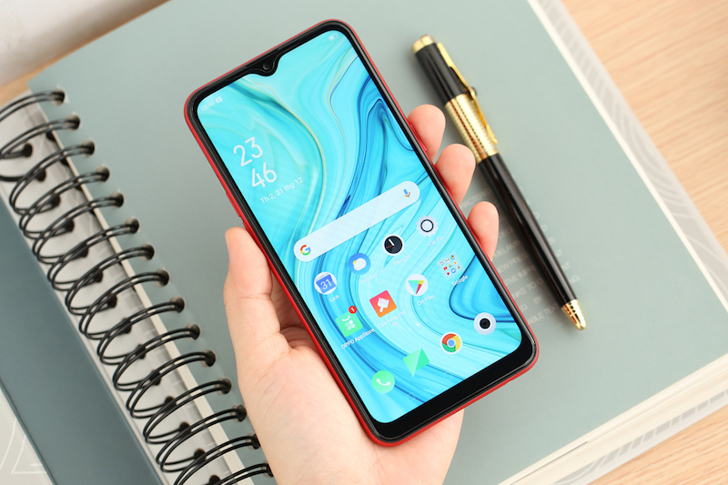 OPPO A1k | Thiết kế
