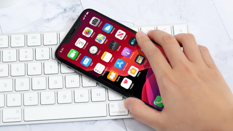 Điện thoại iPhone 11 Pro Max 64GB | Giao diện menu