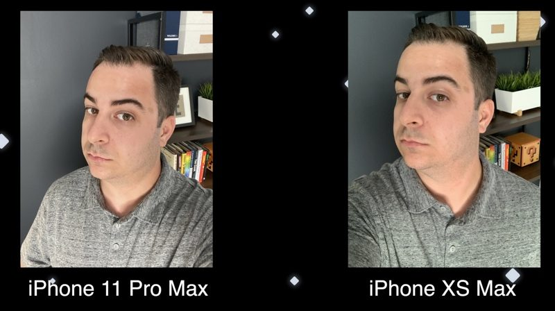 Điện thoại iPhone 11 Pro Max 64GB | So sánh khả năng selfie với Xs Max