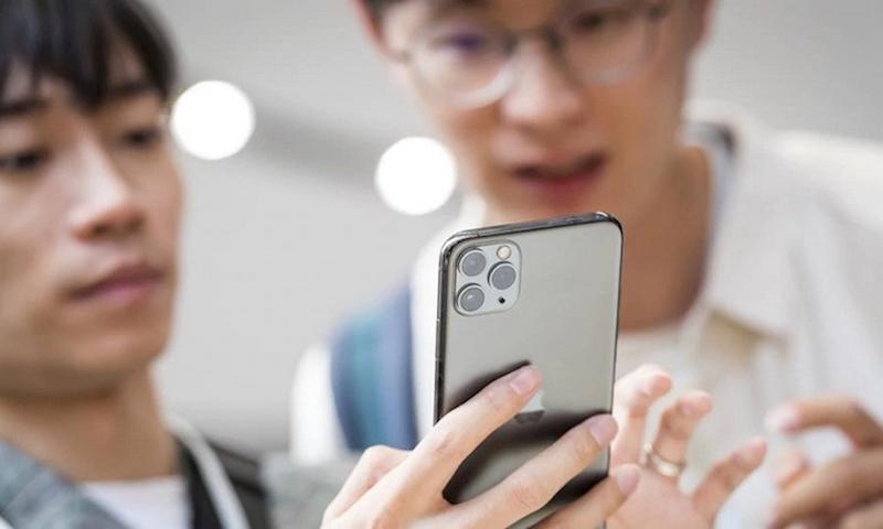 Điện thoại iPhone 11 Pro Max 64GB | Chụp selfie camera trước